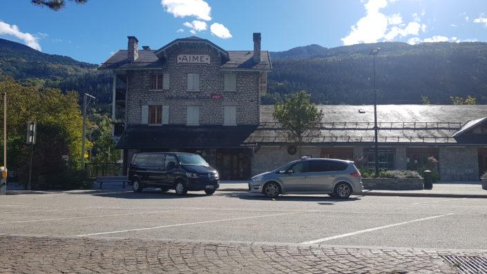 Albert Taxi à la Plagne pour votre transfert vers la station de ski de la Plagne